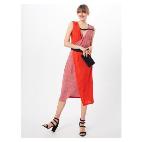 2NDDAY Letnia sukienka mieszane kolory / czerwony