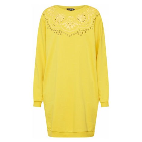 Desigual Sukienka 'VEST_GLORY' żółty