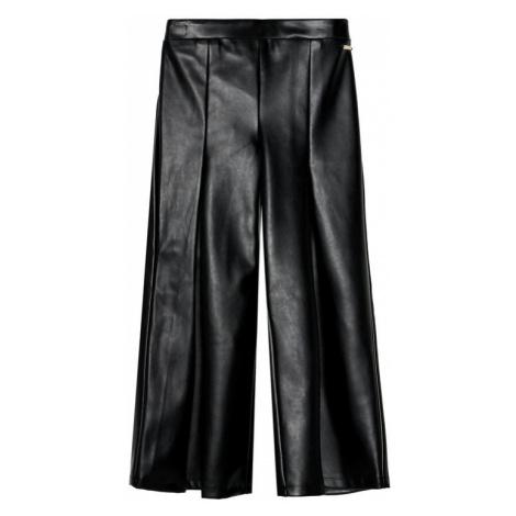 Marciano Guess Spodnie skórzane J0BB11 WDE50 Czarny Regular Fit