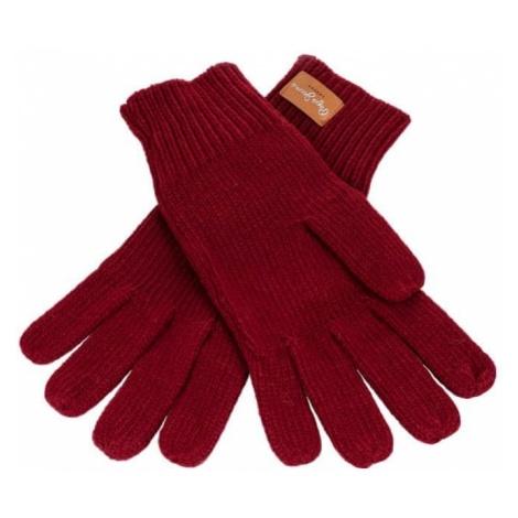 Pepe Jeans rękawiczki damskie Elissa burgund
