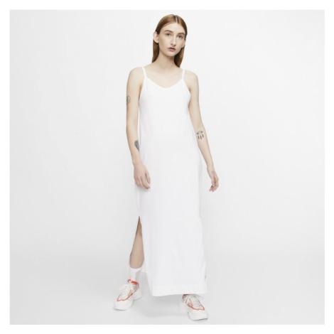 Damska sukienka z dżerseju Nike Sportswear - Biel