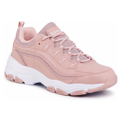 Sneakersy SPRANDI - WP40-8547Z-1 Pink 2