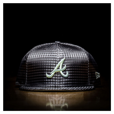 New Era 59Fifty Atlanta Braves Full Cap Grey Pastel Green