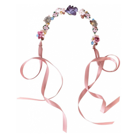 We Are Flowergirls Biżuteria do włosów 'Headpiece Yasmin' mieszane kolory / różany