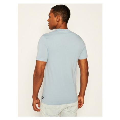 G-Star RAW T-Shirt D15104-336-5304 Niebieski Straight Fit