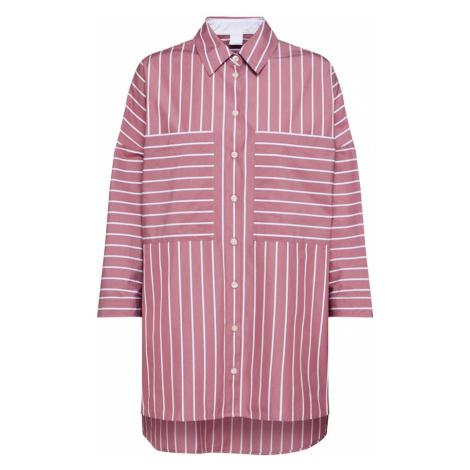 BOSS Bluzka 'Cocola' różowy / biały Hugo Boss