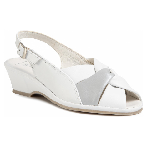 Sandały MARCO TOZZI - 2-28910-24 White Comb 197