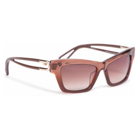Okulary przeciwsłoneczne FURLA - Sunglasses SFU465 WD00006-ACM000-03B00-4-401-20-CN-D Cognac h