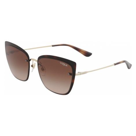 VOGUE Eyewear Okulary przeciwsłoneczne '0VO4158S' brązowy / złoty
