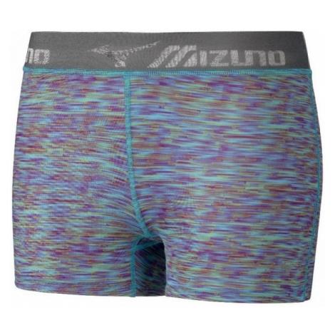 Mizuno IMPULSE SHORT TIGHT niebieski S - Spodenki sportowe damskie