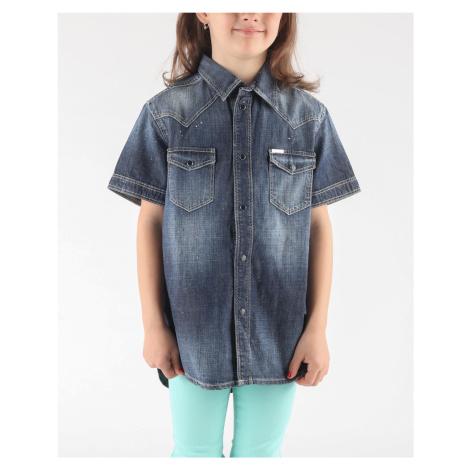 Diesel Clori Koszula dziecięca Niebieski