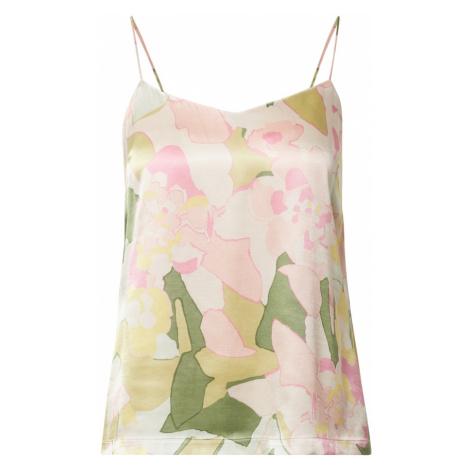 SELECTED FEMME Top 'MOLA' różowy pudrowy / biały / zielony / mieszane kolory