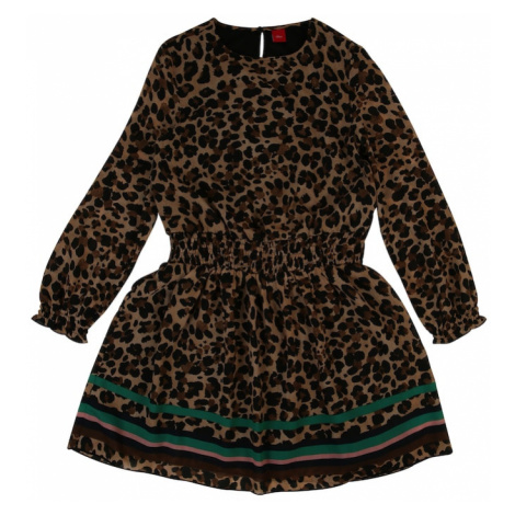 S.Oliver Junior Sukienka piaskowy / czarny