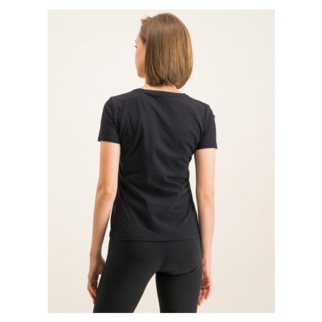 EA7 Emporio Armani T-Shirt 3HTT13 TJ29Z 1200 Czarny Regular Fit