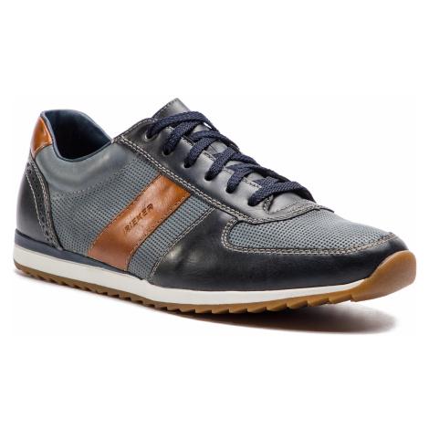 Sneakersy RIEKER - 19331-14 Blau Kombi