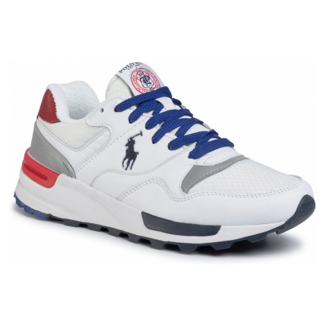 Sneakersy POLO RALPH LAUREN - Trckstr Pony 809785418003 Wh/Wh/Rl