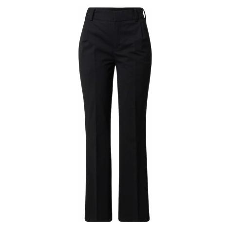 DRYKORN Spodnie w kant 'ESSAY' czarny