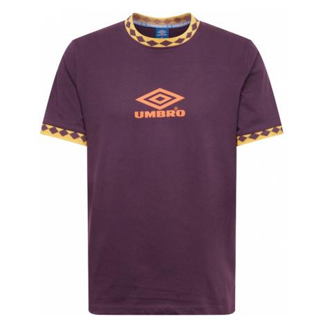 UMBRO Koszulka 'UMBRO ISOTOPE RINGER' żółty / fioletowy