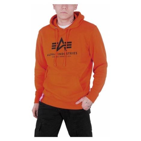 Bluza męska Alpha Industries Basic Hoodie 178312 417