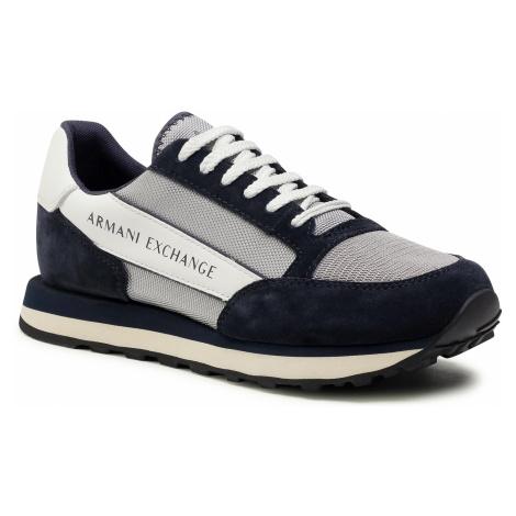 Sneakersy ARMANI EXCHANGE - XUX083 XV263 K556 Navy/Grey/Off White
