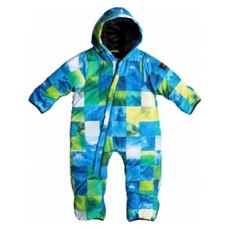 Quiksilver kombinezon Little Baby Sui I Snsu Ggp9 Blue Sulphur Icey Check