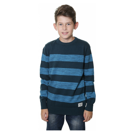 sweter Billabong All Day Stripes - Deep Sea