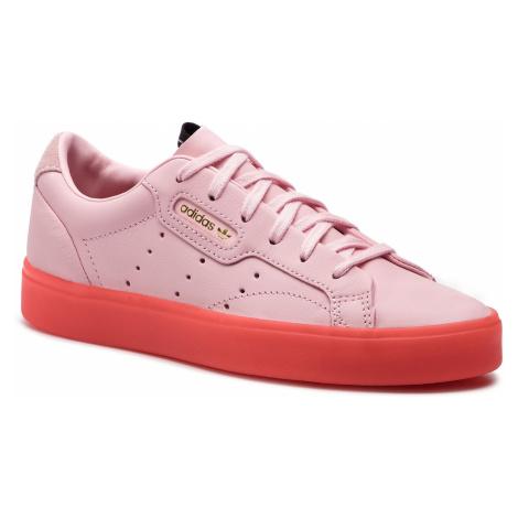 Buty adidas - Sleek W BD7475 Diva/Diva/Red