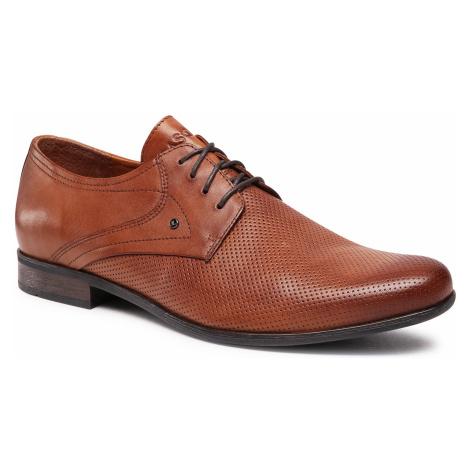 Półbuty LASOCKI FOR MEN - MB-MOSE-S16-04 Brown