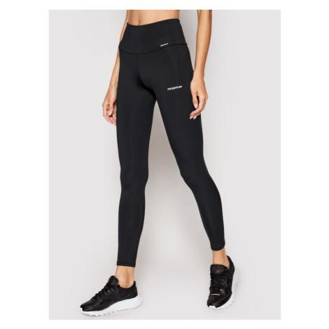 Carpatree Legginsy Yoga C-YP2HW-F Czarny Slim Fit