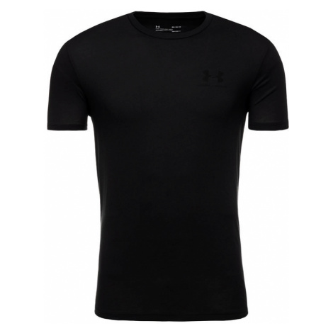Under Armour T-Shirt 1326799 Czarny Loose Fit