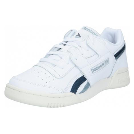 Reebok Classic Trampki niskie 'Workout Lo Plus' biały / podpalany niebieski