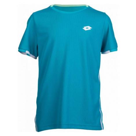 Lotto TENNIS TEAMS TEE PL B niebieski M - Koszulka sportowa chłopięca