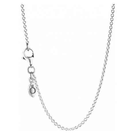 Pandora CienkieSrebrnyŁańcuch 590412-45 srebro 925/1000