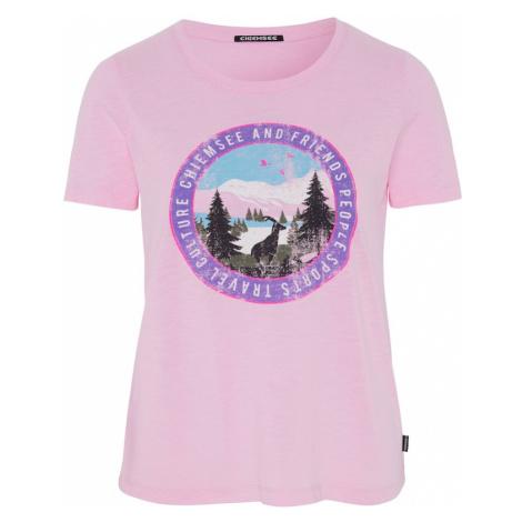 CHIEMSEE Koszulka funkcyjna 'Sangaj' różowy
