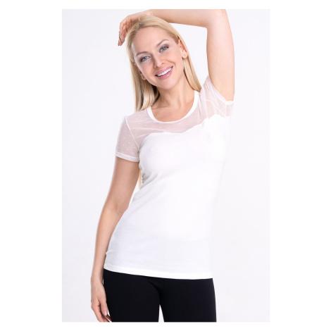 Damski T-shirt Spalla z krótkim rękawem Cotonella