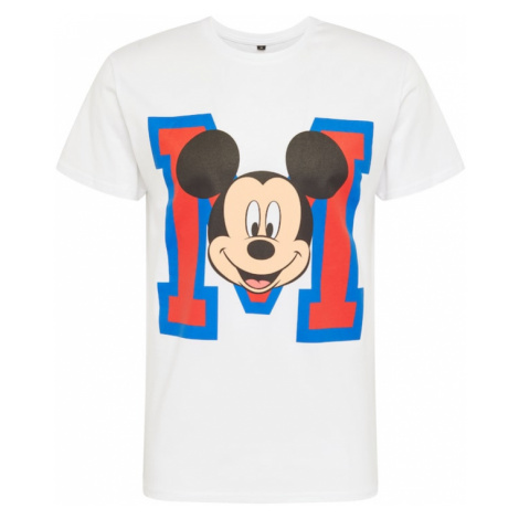 Mister Tee Koszulka 'Mickey Mouse' biały / mieszane kolory
