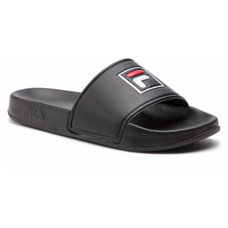 Klapki FILA - Palm Beach Slipper Wmn 1010341.12V Black/Black