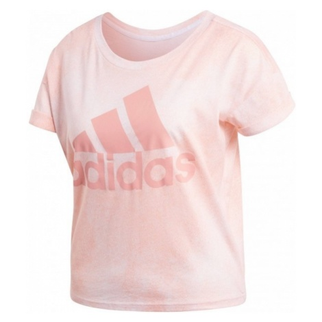 adidas ALL OVER PRINTED T-SHIRT - Koszulka damska