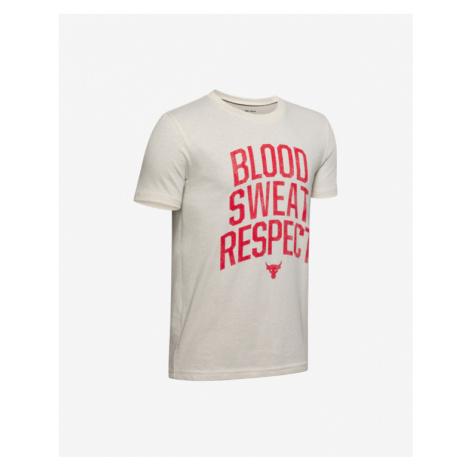 Under Armour Project Rock Blood Koszulka dziecięce Biały