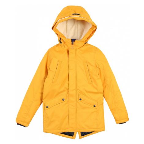 Jack & Jones Junior Płaszcz złoty żółty