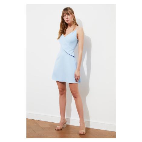 Trendyol Blue Flywheel Dress