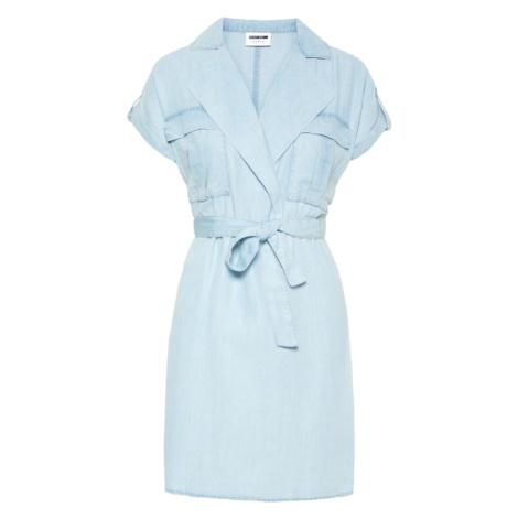 Noisy may Sukienka koszulowa 'NMVERA' niebieski denim
