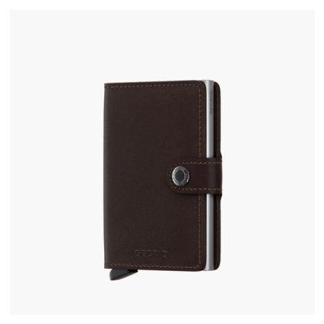 Portfel Secrid Miniwallet Original M-Dark Brown