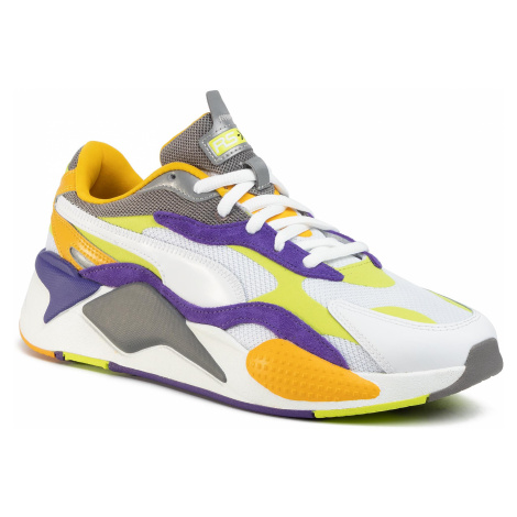 Sneakersy PUMA - Rs-X3 Level Up 373169 01 Puma White/Limepunch