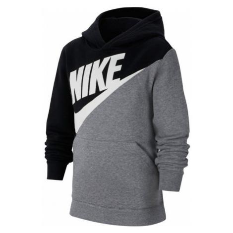 Nike NSW CORE AMPLIFY PO B szary S - Bluza chłopięca