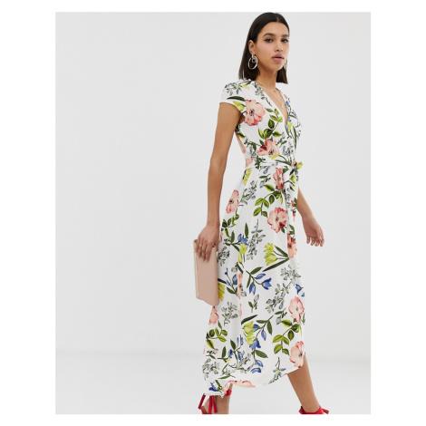 AX Paris floral maxi dress