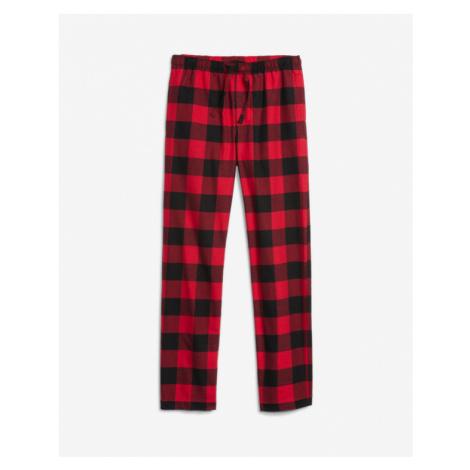 GAP Spodnie do spania Czerwony