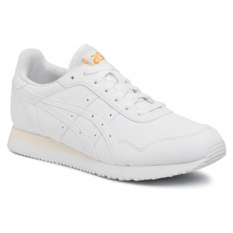 Sneakersy ASICS - Tiger Runner 1192A190 White/White 100