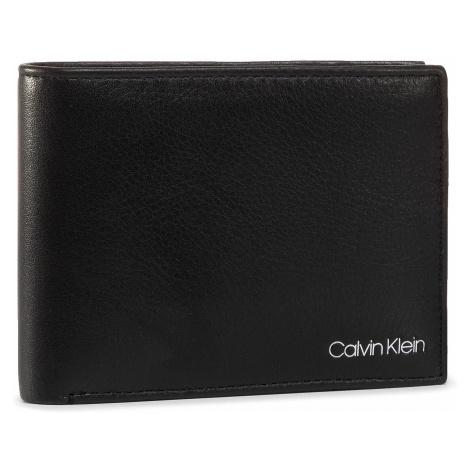 Duży Portfel Męski CALVIN KLEIN - Qt Pocket Hdn Pckt 5CC W Coin K50K505708 BLK