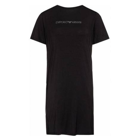 Emporio Armani Sukienka plażowa 262645 0P315 00020 Czarny Regular Fit